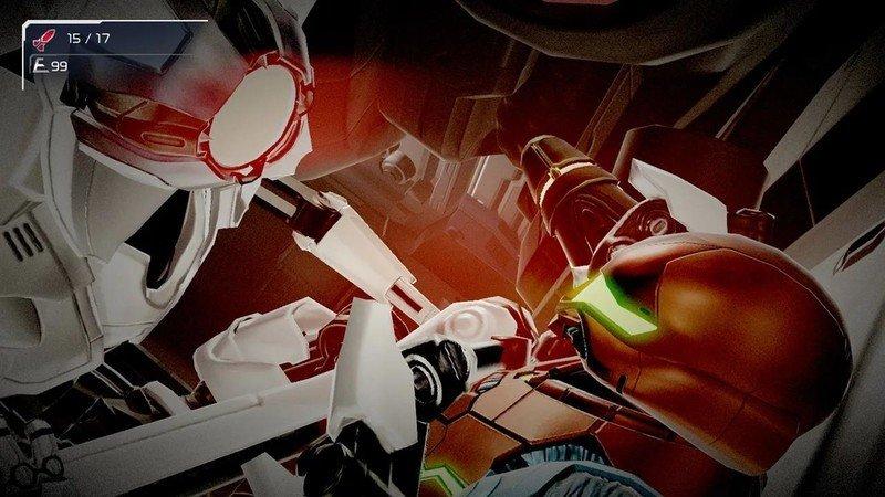 Metroid Dread Robot
