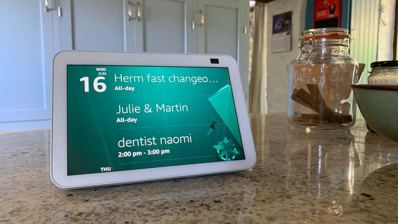 Amazon Echo Show 8: Appointments