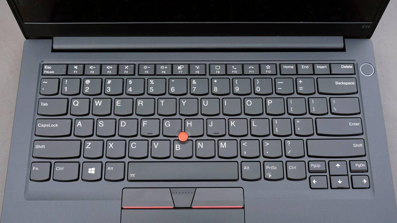 ThinkPad E14 keyboard