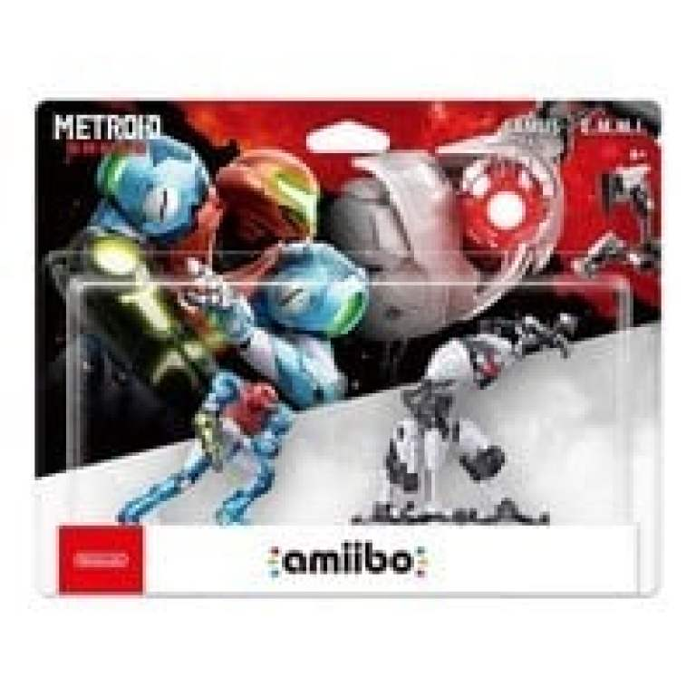 Metroid Dread Amiibo Box Art