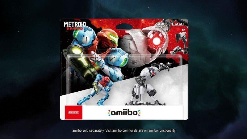 Metroid Dread Amiibo