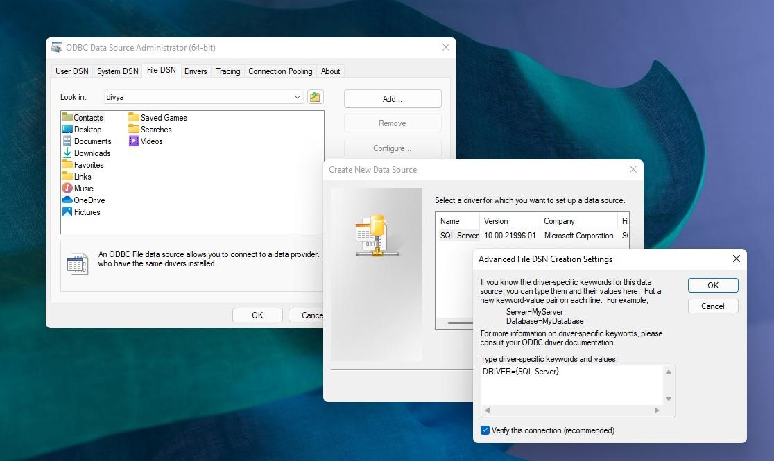 Windows 3 dialog box