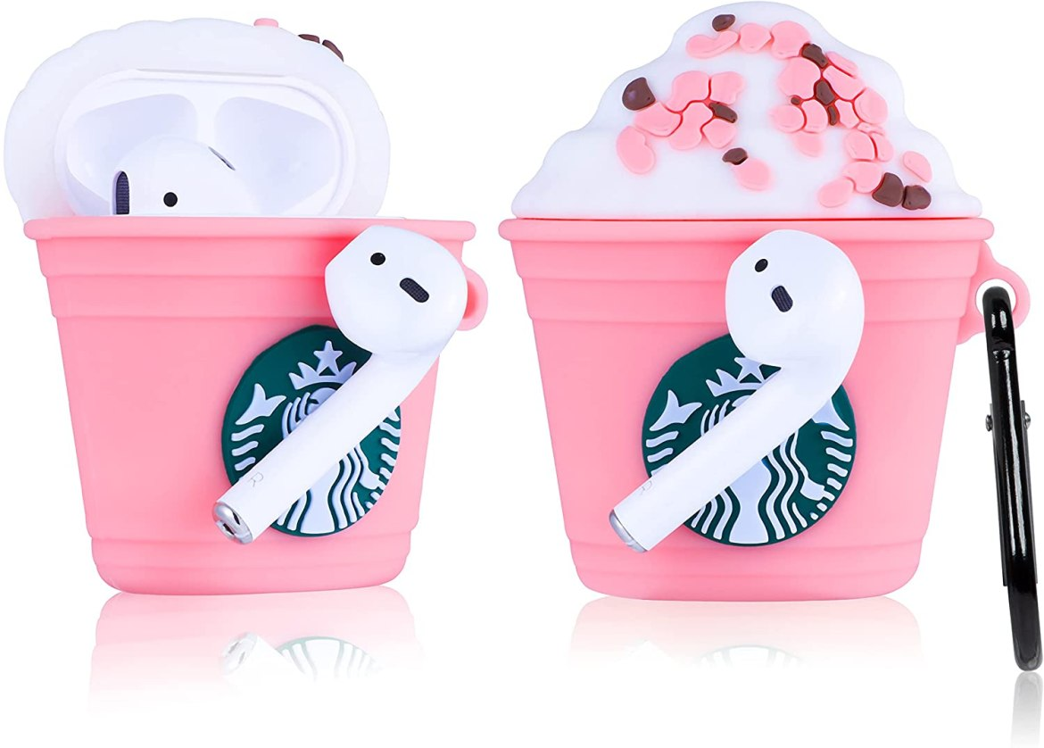 Joyleop Cherry Cup Airpods Silicone Case