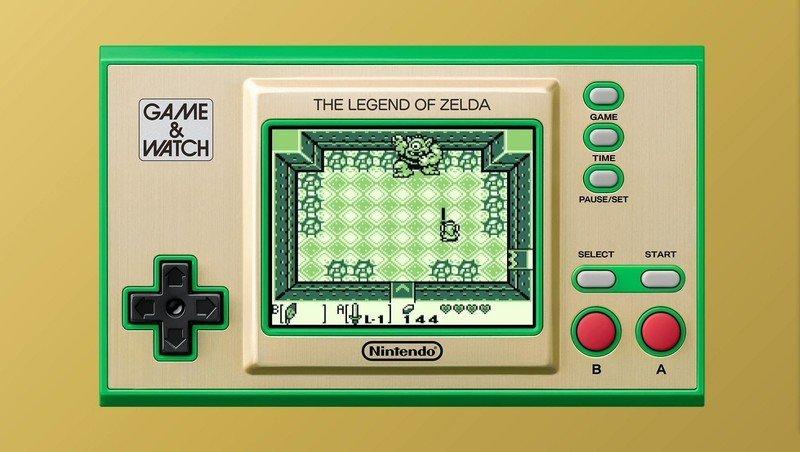 Game And Watch Zelda Links Awakening