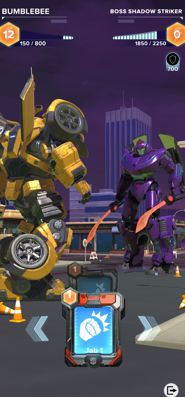 Bumble Bee in Transformers: Heavy Metal.