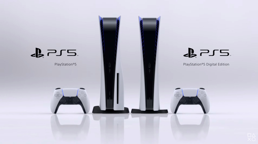 The PlayStation 5 consoles.