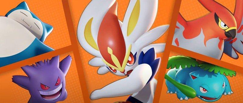 Pokemon Unite 5 Character Team Orange