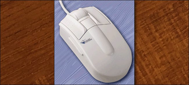 The 1995 Mouse Systems ProAgio Scroll Mouse