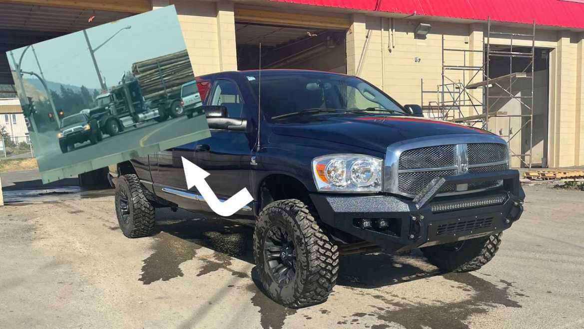 2007 Ram 3500 That Towed A Semi