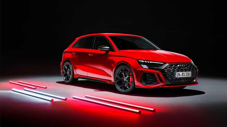 2022 Audi RS3 Sportback Front Quarter