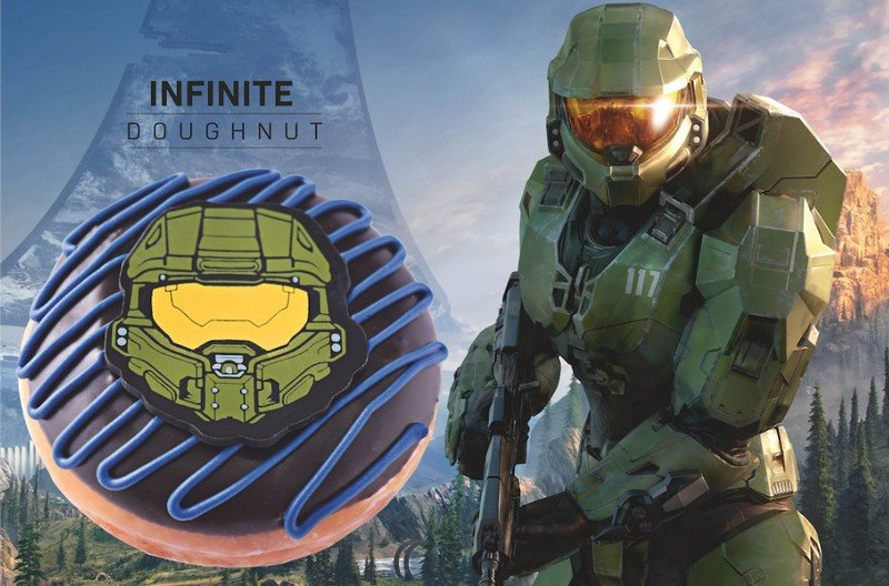 Halo Infinite Donut
