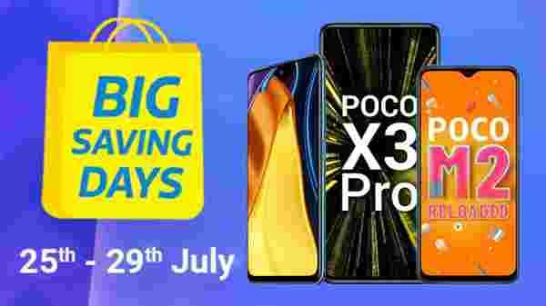 Flipkart's Big Billion Days sale on Poco Smartphones