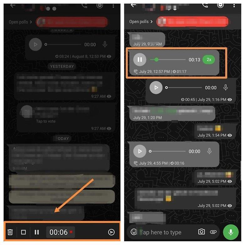 threema voicemessage