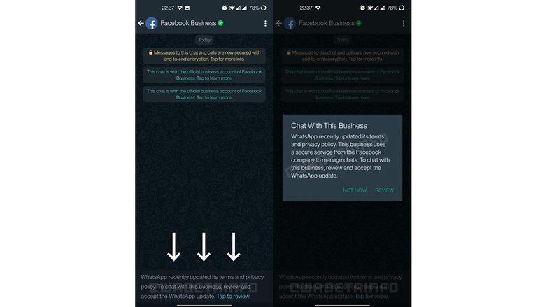 WhatsApp AGB Optional NextPit