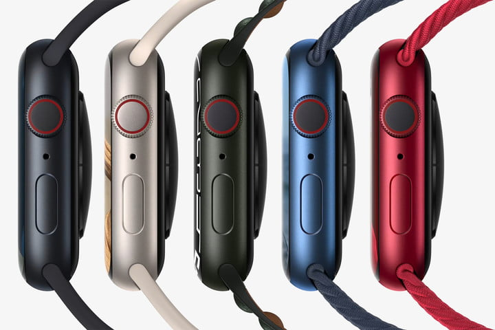 Apple Watch 7 new colors.