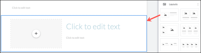 Use a page Layout