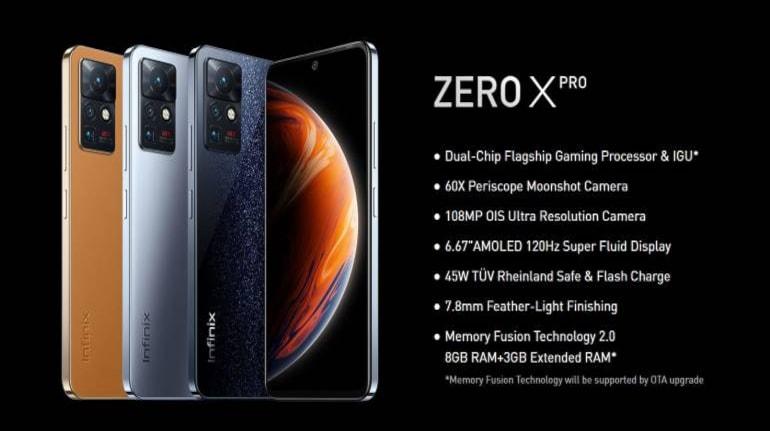 Infinix Zero X specs