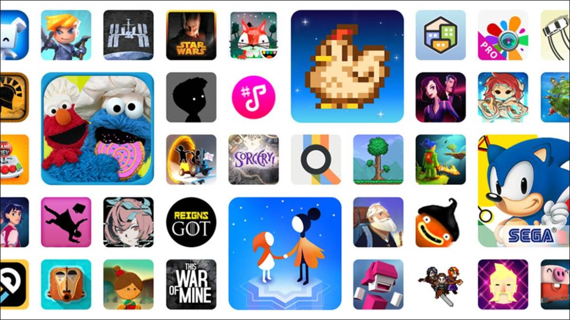 Google Play apps and games.