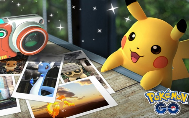 Pokemon GO's New Photo Mode Allows Users to Snap a Picture of any Pokemon