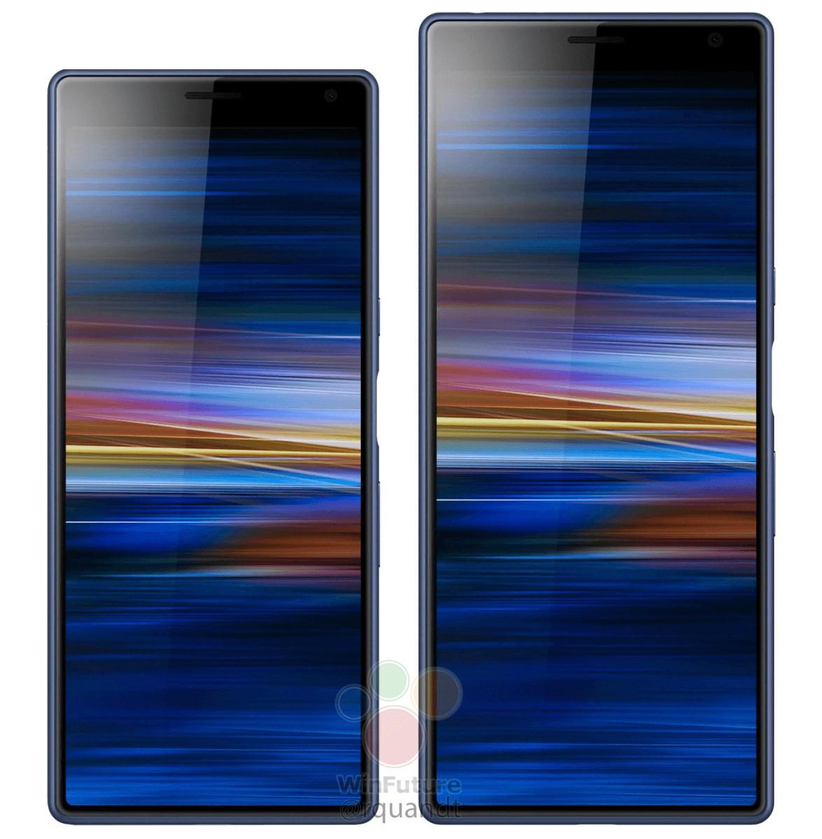 Sony Xperia XA3 and XA3 Ultra Appear in New Renders