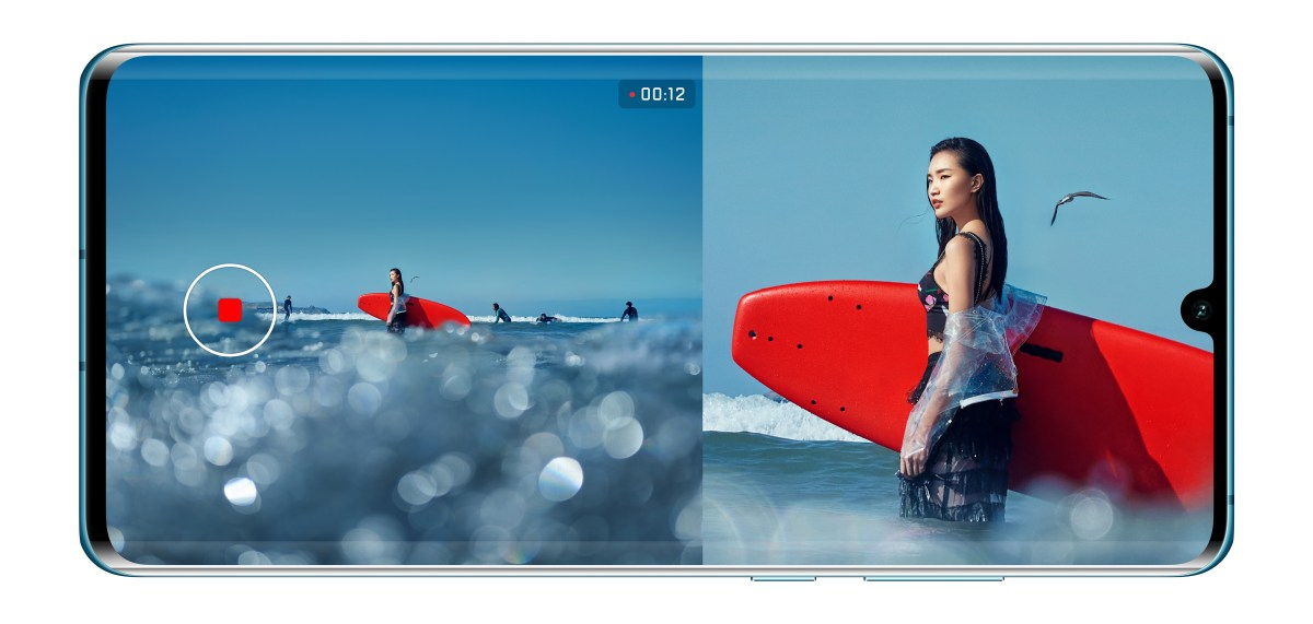 HUAWEI P30 and P30 Pro's Dual-View Camera
