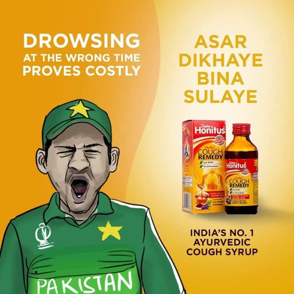 Sarfaraz Ahmad Trolled on Social Media for Yawning on the field