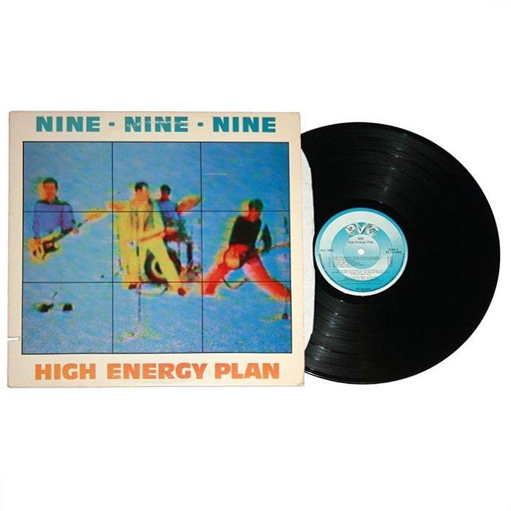 999 - High Energy Plan Vinyl
