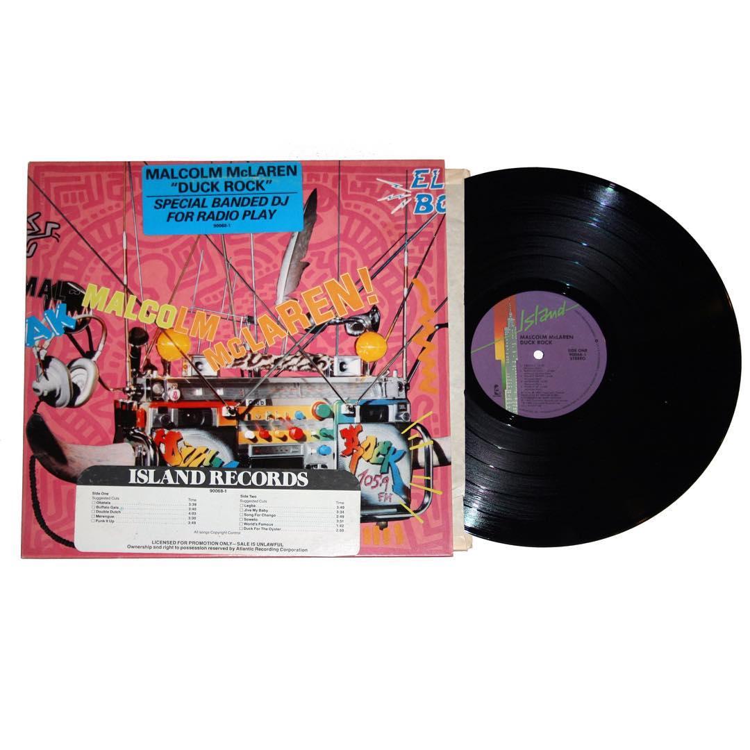 Malcom McLaren - Duck Rock Vinyl