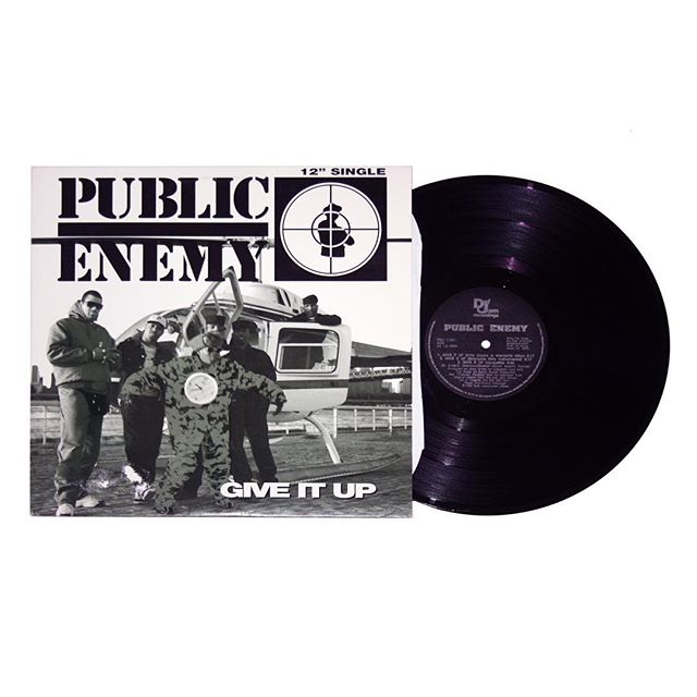 Public Enemy Give It Up Maxi-Single