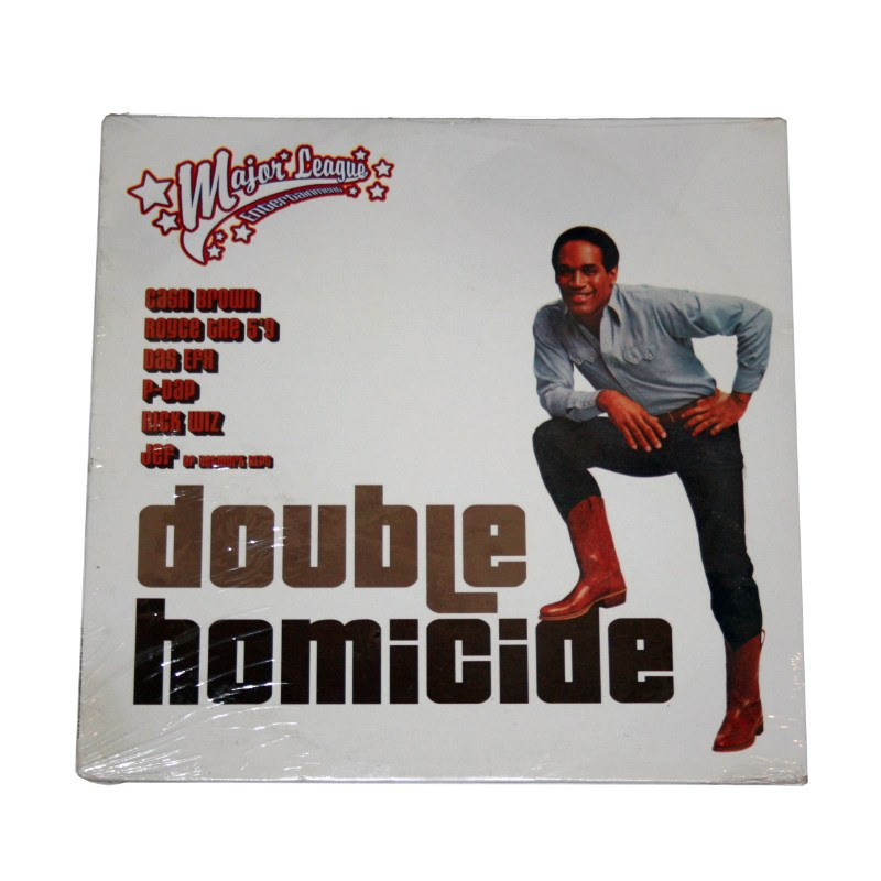 Royce Da 59, Cash Brown, P Dap & Das EFX - Double Homicide b/w Leave It Alone Single