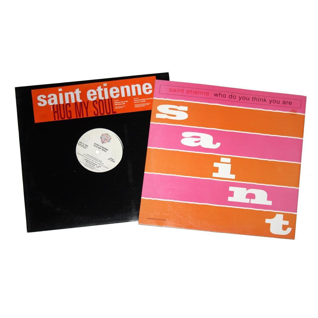 "Lot of (2) Saint Etienne 12"" Promo Singles"