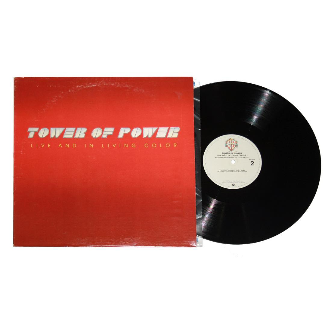 Tower of Power - Live and In Living Color Album