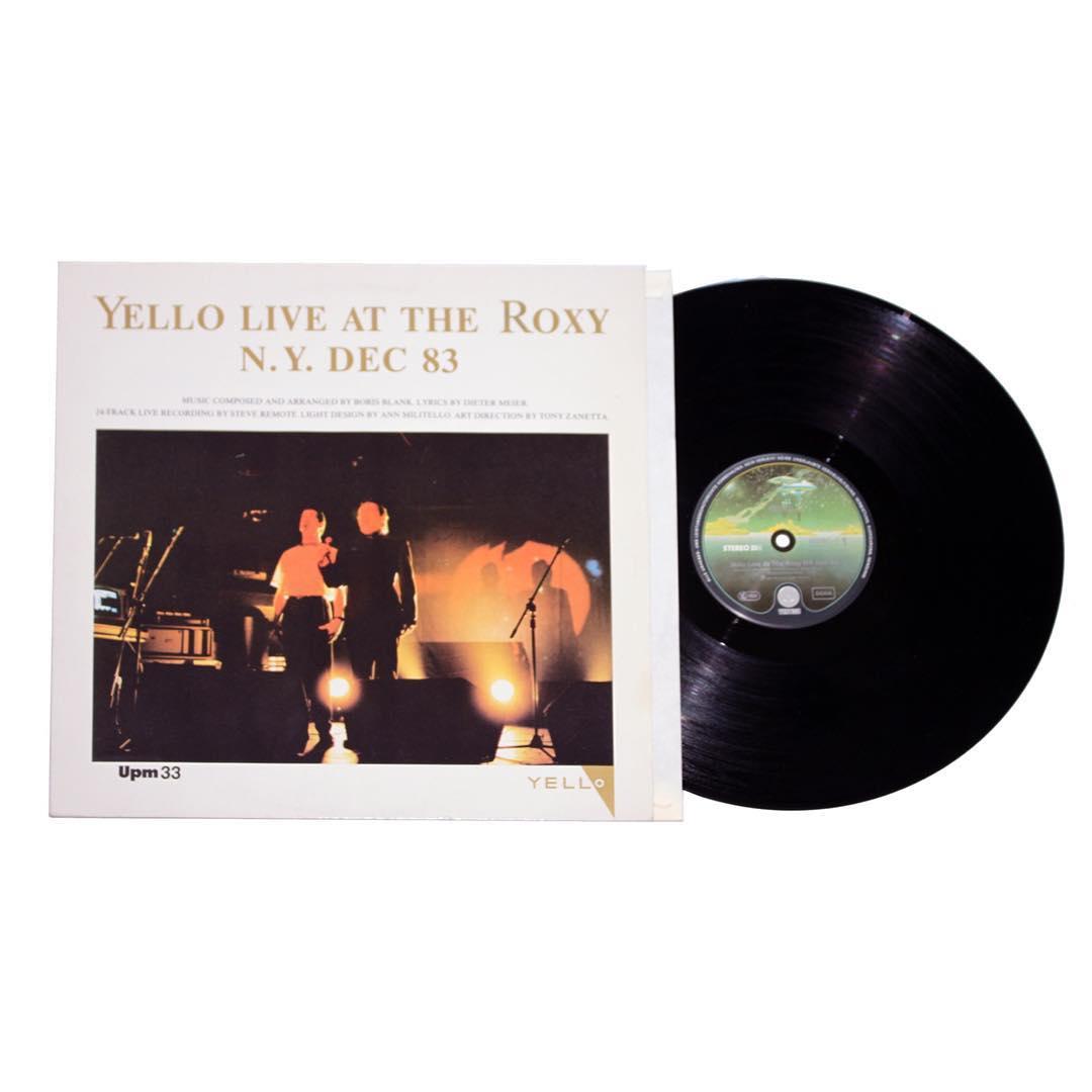 Yello - Live at The Roxy Vinyl