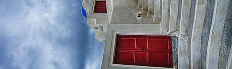 Inverted Red Doors