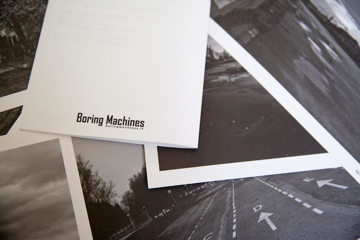 © Adriano Zanni, A4, b&w, 61 images, text by Paolo Ippoliti, Federica Angelini and Onga, edition of 200, published by Boring Machines, 2014