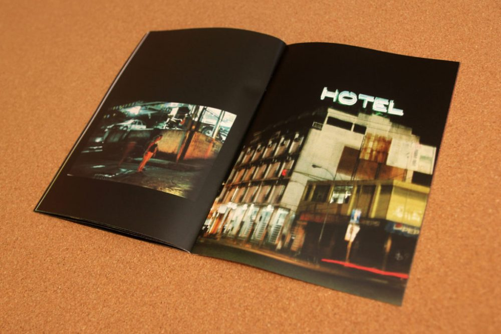 © Oscar Aramendi, 32 pages, 148 x 210 mm, digital print, edition of 40 (numbered)