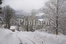 Plateau d'Esmoulières enneigé