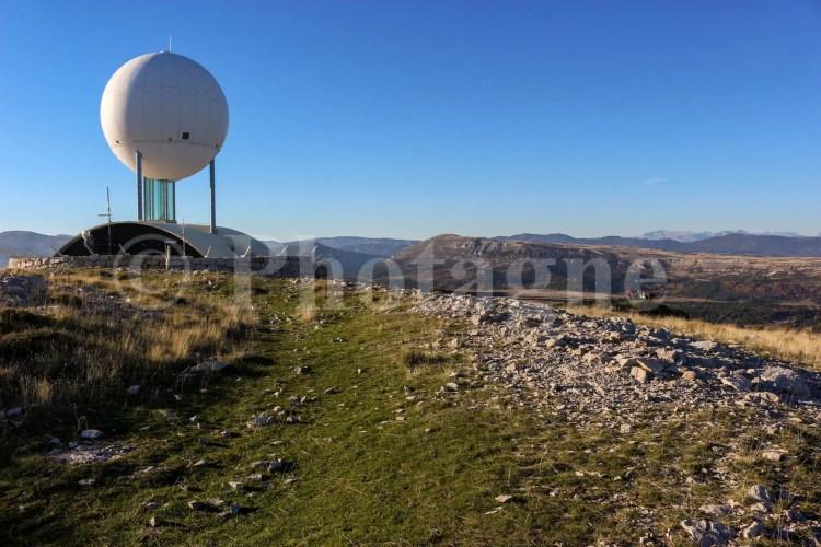 Le Haut Montet et son (superbe) radar
