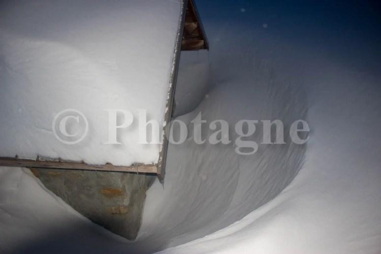 La cabane de l'Alp sous 3m de neige !
