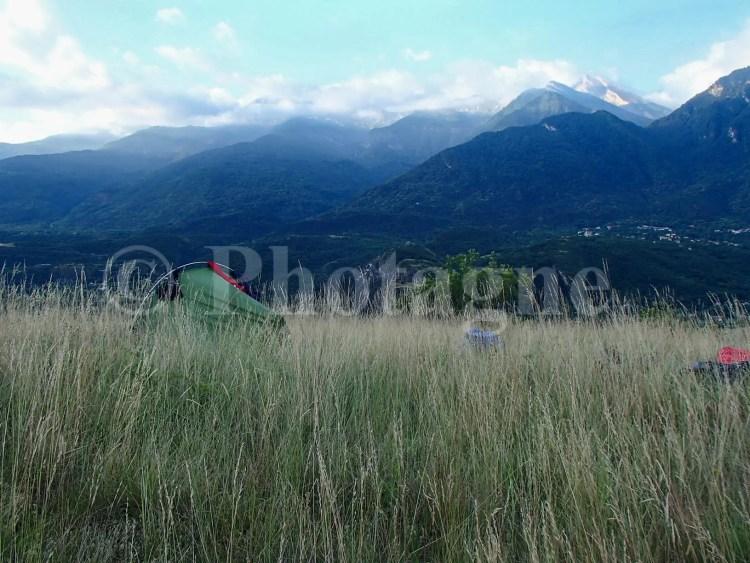 Bivouac en basse altitude à Suse