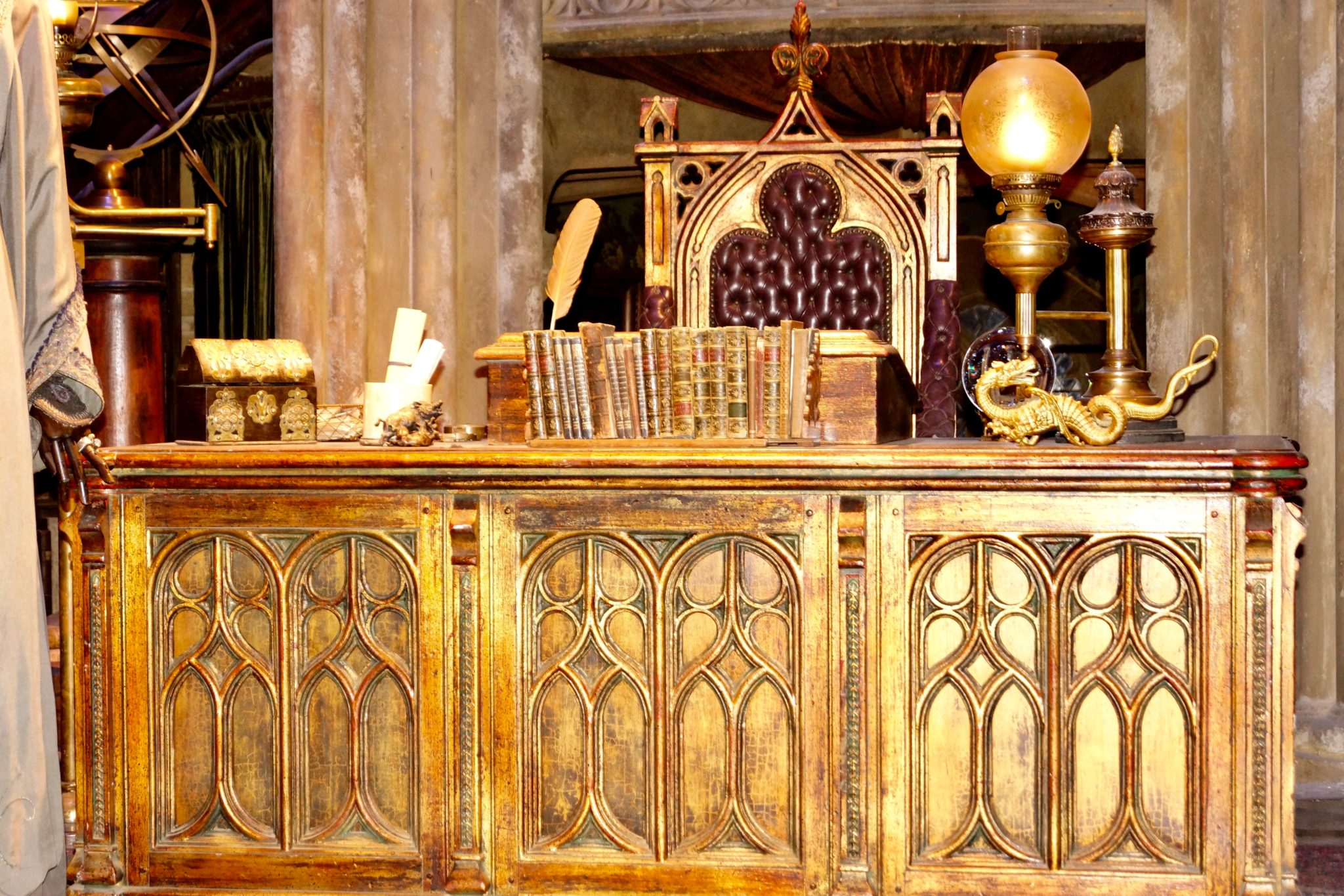 Albus Dumbledore's Office at Hogwarts