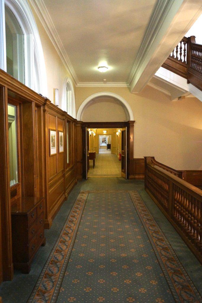 Hallway at Caledonian Hotel