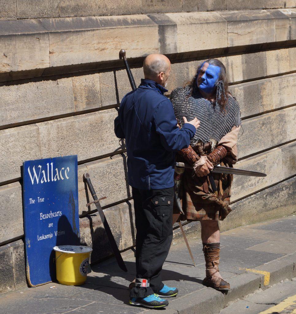 William Wallace Edinburgh Ireland Royal Mile