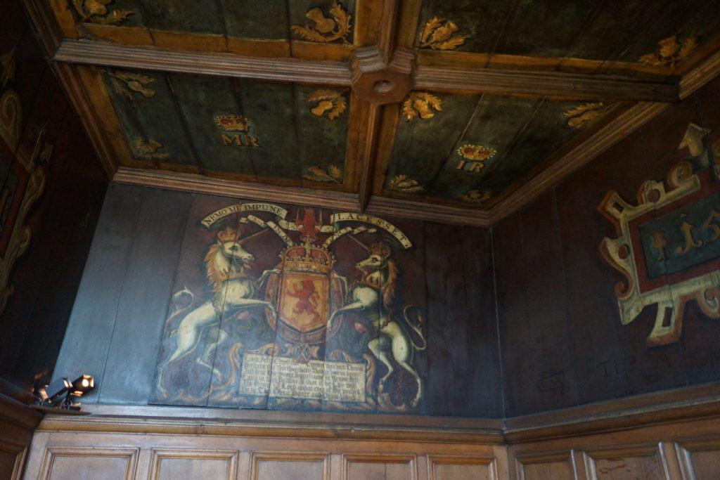 Interior of Residence inside Edinburgh Castle