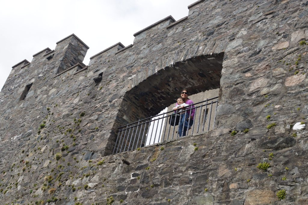 Eilean Donan Castle Walls