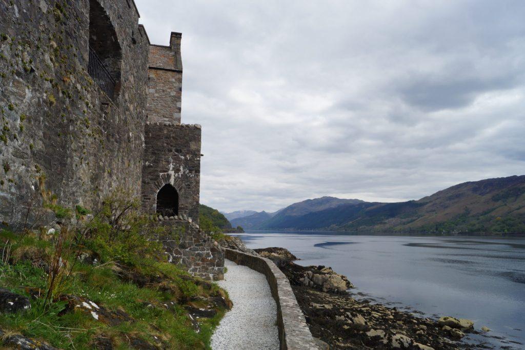 Back of Eilean Donan Castle