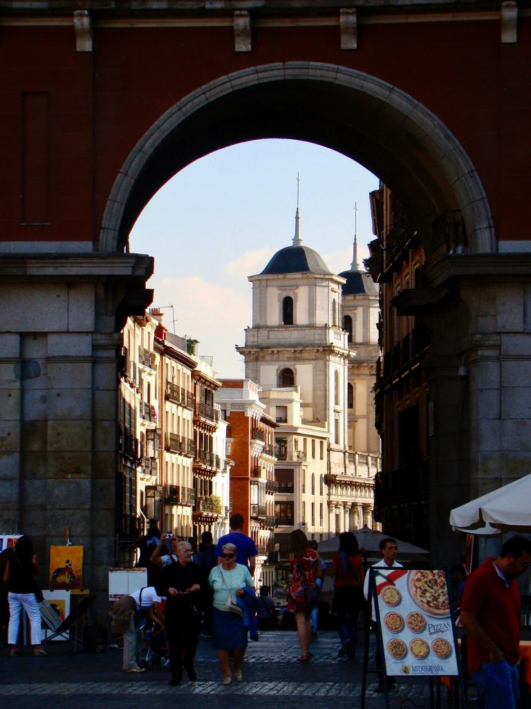 Plaza Mayor Entrance