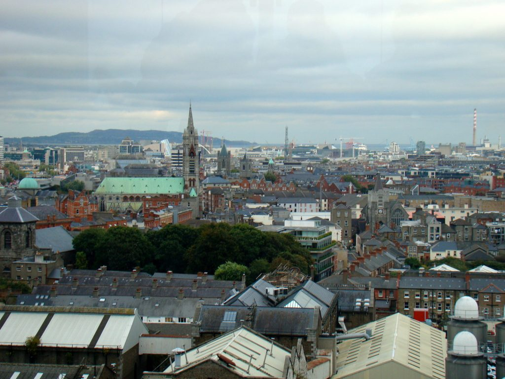 Gravity Bar, Guiness Storehouse view
