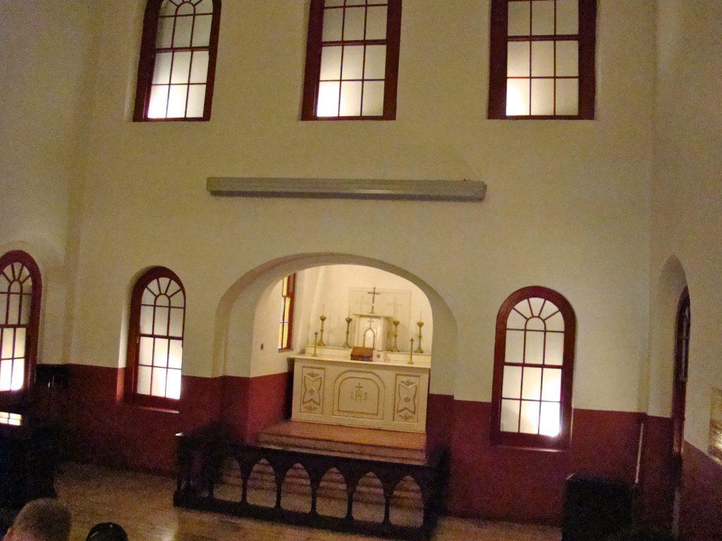Chapel inside Kilmainham Gaol