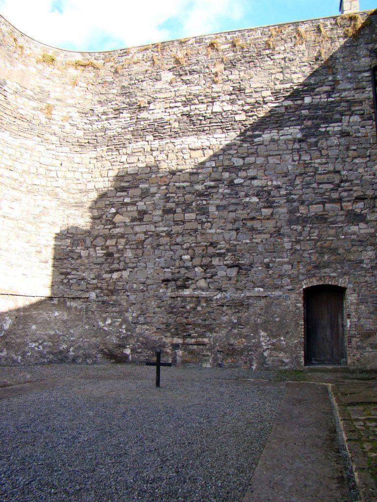Cross for Easter Rising at Kilmainham Gaol